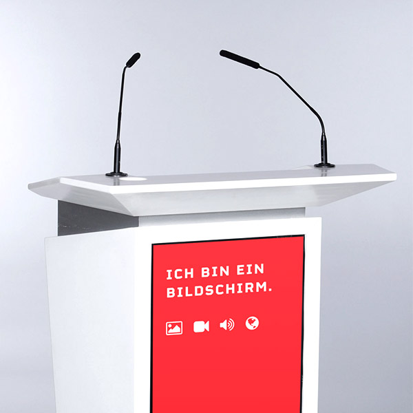 Multimedia Rednerpult