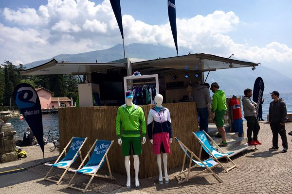 Eventtrailer am Gardersee